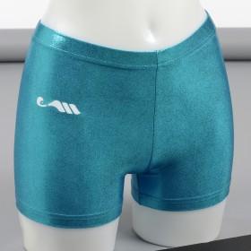 Mini-short Poudre azur-8