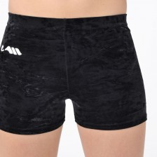 Mini-short velours noir